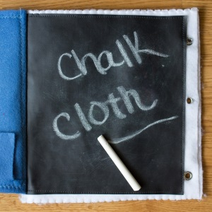 Activity Quiet Book Inspiration with Chalk Cloth | Five Marigolds