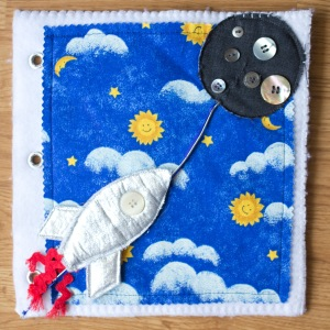 Activity Quiet Book Inspiration Rocket Outer Space | Five Marigolds