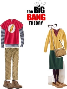 Shop your closet for these 5 Halloween Costumes on a budget Couple's Costume Big Bang Theory Sheldon and Amy | Five Marigolds