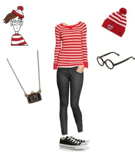 Shop your closet for these 5 Halloween Costumes on a budget Where's Waldo | Five Marigolds