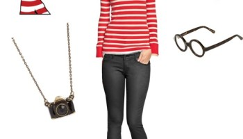 Halloween costume wheres waldo for her five marigolds shop your own closet for these 5 diy halloween costumes solutioingenieria Choice Image
