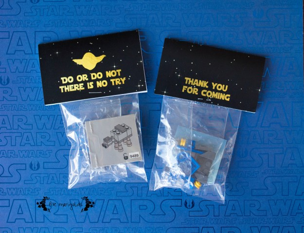 Star Wars Lego Birthday Favors | Five Marigolds