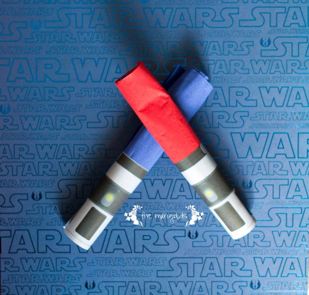 Star Wars Boba Fett Buffet Light Saber Napkin Rings | Five Marigolds