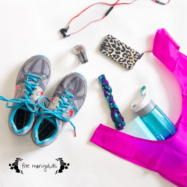 What's in my Gym Bag | Five Marigolds