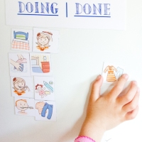 Inexpensive, Easy Chore Chart for Kids