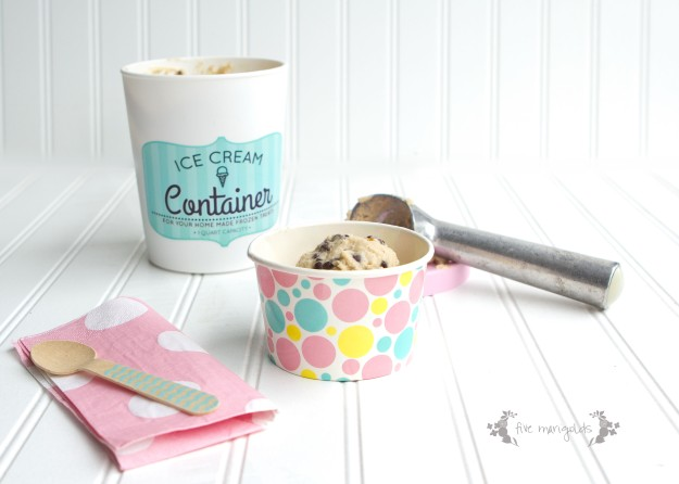 Cookie Dough Frozen Yogurt | Five Marigolds