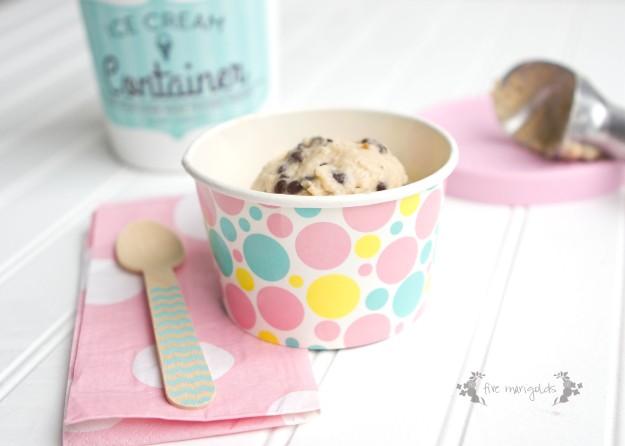 Cookie Dough Frozen Yogurt | Five Marigolds