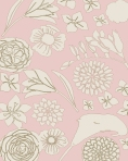 floral background toile match 11x17