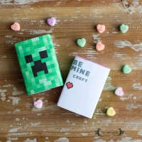 Be Minecraft Valentine's Day Printable