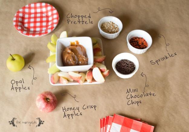 Caramel Apple Bar | Five Marigolds