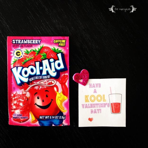 Kool Aid Printable Valentine Kool-aid Valentine Printable