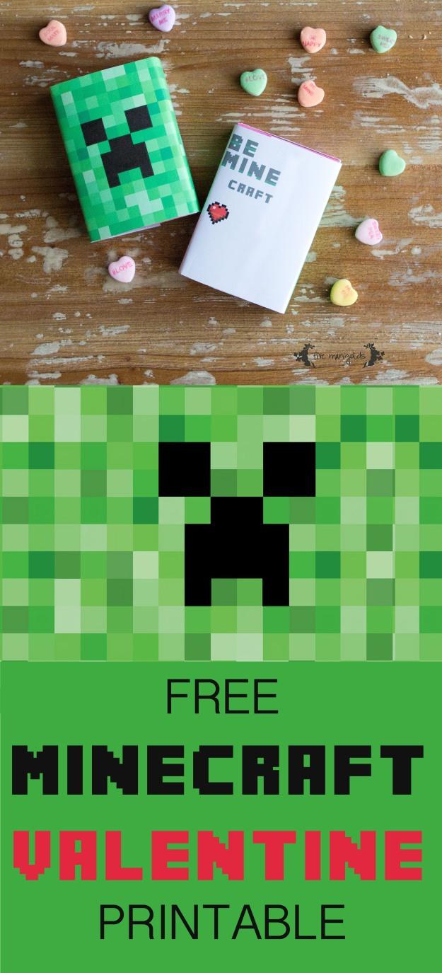 Minecraft Valentine | Five Marigolds