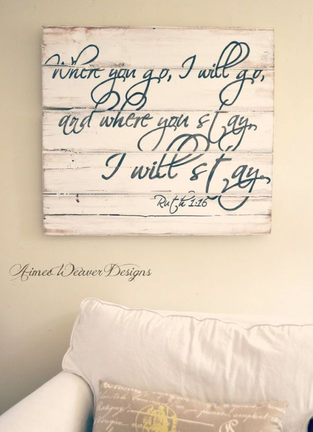 where you go I will go Aimee Weaver Designs