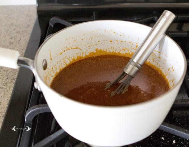 Caramelized Salted Caramel Dip | Five Marigolds