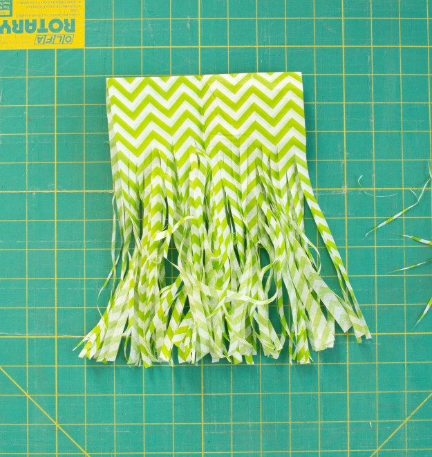Tinsel Tassel Banner Tutorial | Five Marigolds