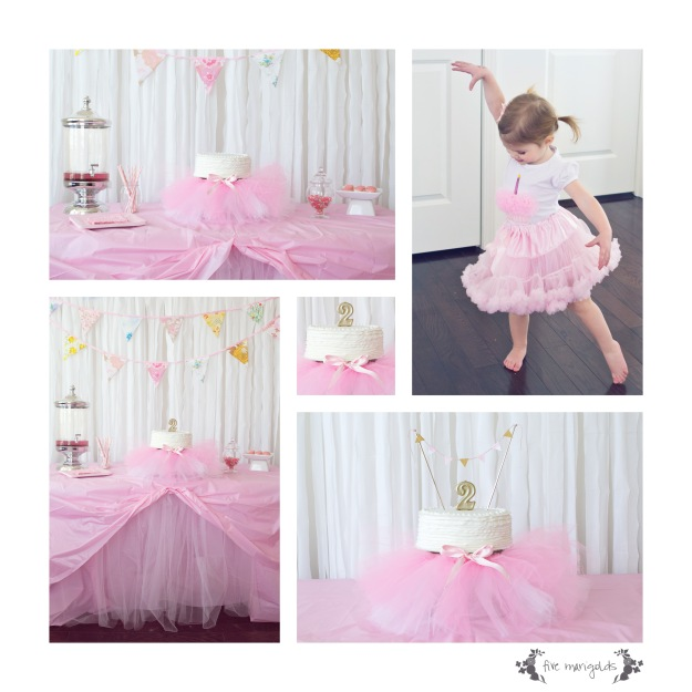 Tutu Birthday Party | Five Marigolds