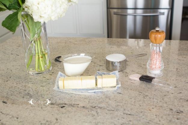 Salted Caramel Apple Dip Ingredients | Five Marigolds