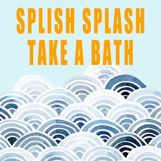Splish Splash Take a Bath artwork for IKEA Ribba Frame | Five Marigolds