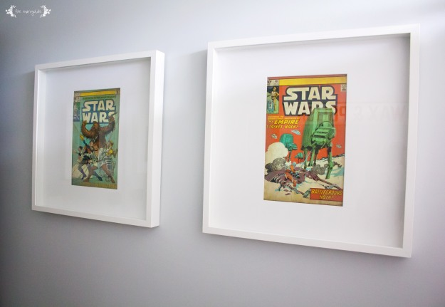 Vintage Star Wars Boy Bathroom Art | Five Marigolds