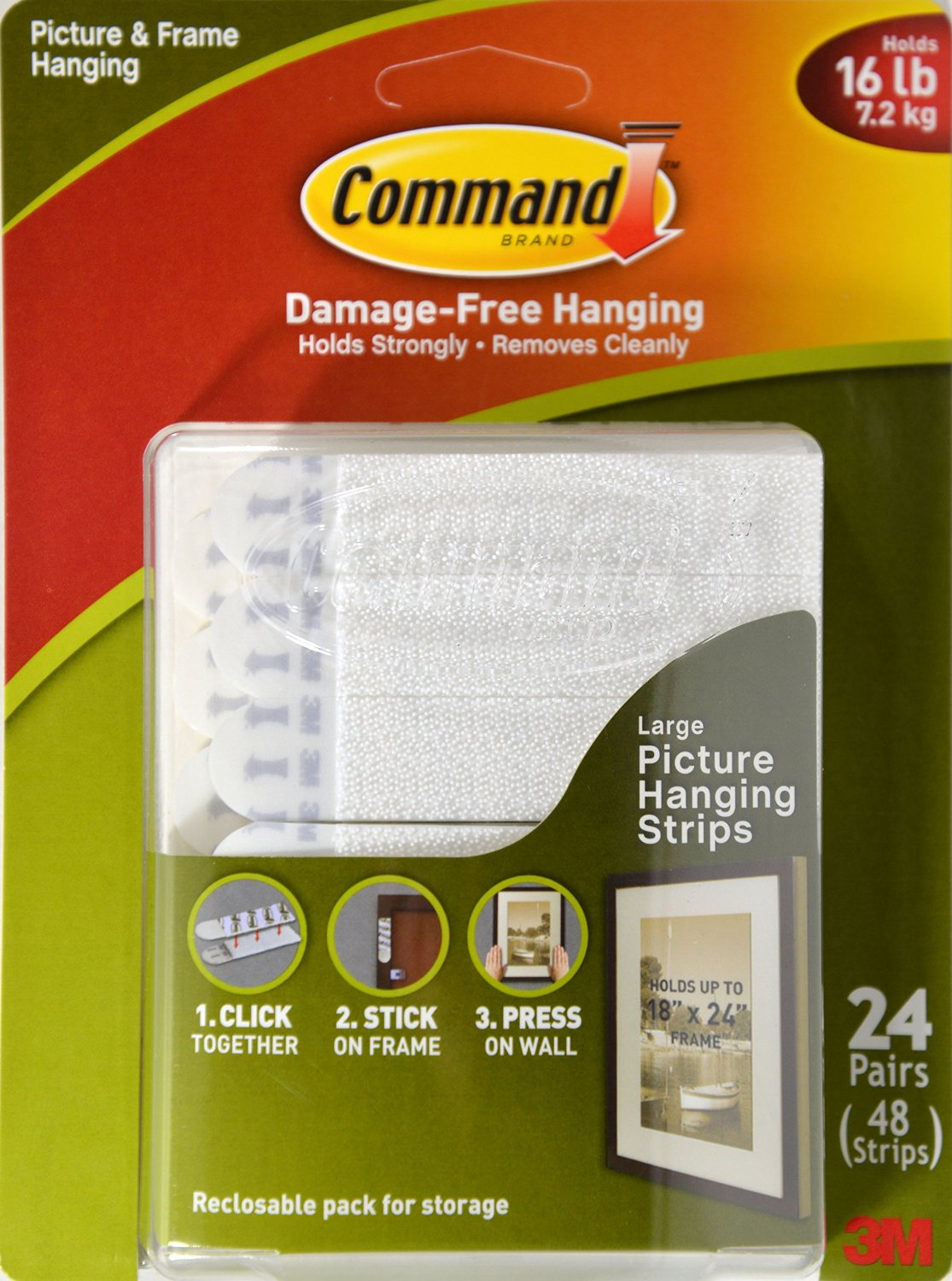 Loving Lately: 3M Command Strips for Pictures and Frames